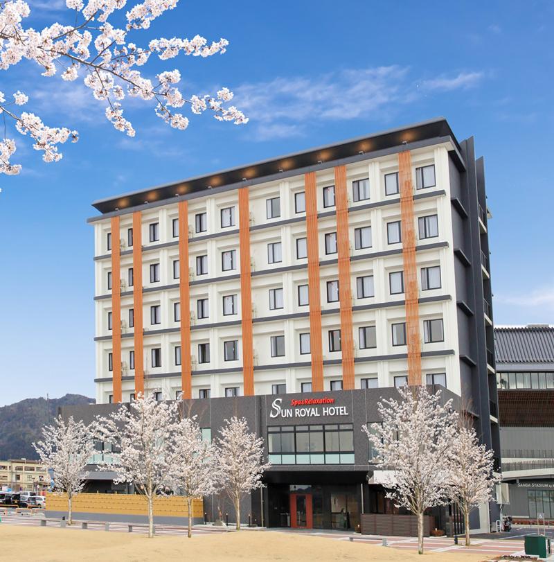サンロイヤルホテル新築工事